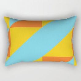 Andean Encounters Rectangular Pillow