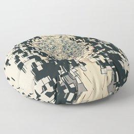 Fragmented Floor Pillow