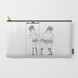 Mirror, Mirror Carry-All Pouch