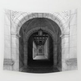 Ann Arbor Michigan Archway Wall Tapestry