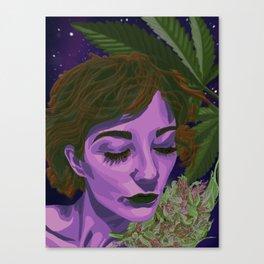 Canna-Queen Canvas Print