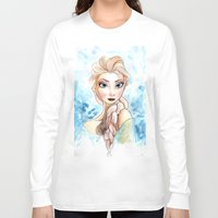 elsa Long Sleeve T-shirts featuring elsa by mejony