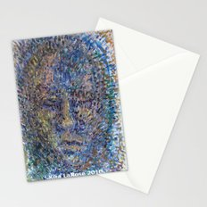 The Face of Man Stationery Cards