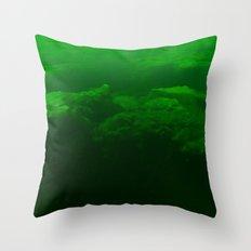 Verdant Lake Throw Pillow