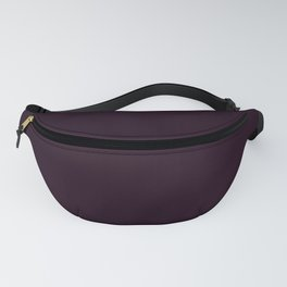Simply Deep Eggplant Purple Fanny Pack
