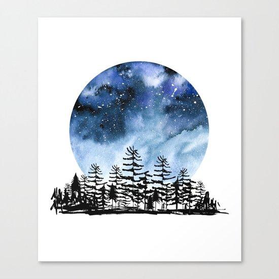 Frozen Sky Canvas Print