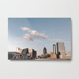 City Of ATLANTA Metal Print