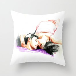 The Romance Throw Pillow