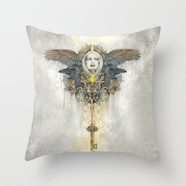 Alis grave nil - Nothing is heavy to those who have wings Throw Pillow