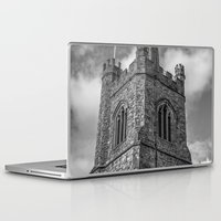 medieval Laptop & iPad Skins featuring Medieval Church by David Pyatt