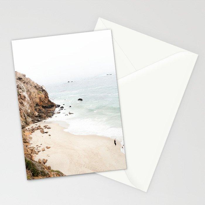Malibu California Beach Stationery Cards