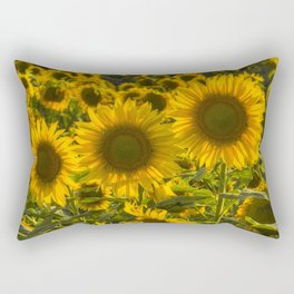 Sunflower Family Rectangular Pillow