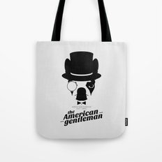 Boston Terrier: The American Gentleman. Tote Bag