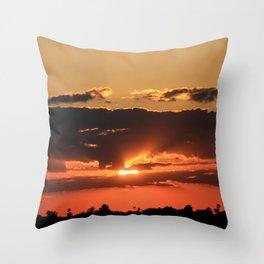 Tucson Sunset I Throw Pillow