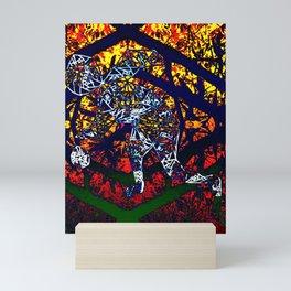 Person Balling Mini Art Print