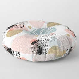 Circles texture Floor Pillow