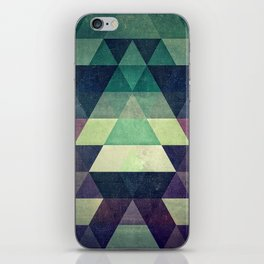 dysty_symmytry iPhone Skin