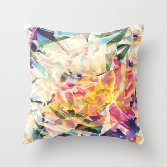 Gemstone II Glump Throw Pillow