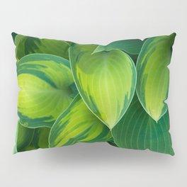Hosta Camouflage Pillow Sham