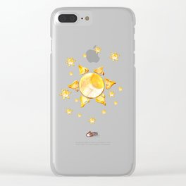 Moon Sun... and the stars Clear iPhone Case