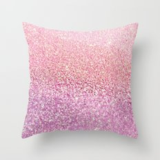 GOLD PINK Throw Pillow