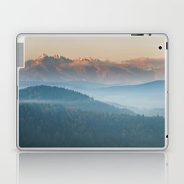 The mountains are calling #sunset Laptop & iPad Skin