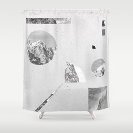 monochromatic Shower Curtain