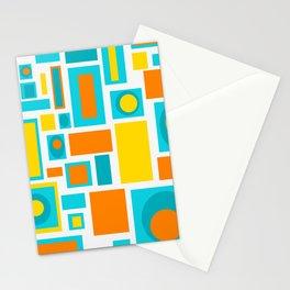 Mid Century Modern Brook Stationery Cards