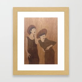 Girls Framed Art Print