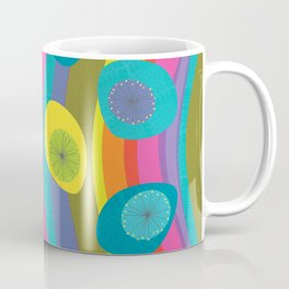 Groovy Retro Waves Coffee Mug