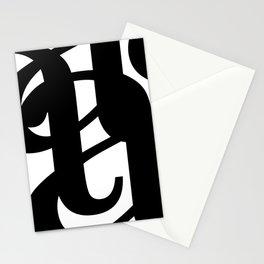 Hidden Letters. Baskerville A Stationery Cards