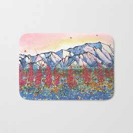 Denali Alpenglow Bath Mat