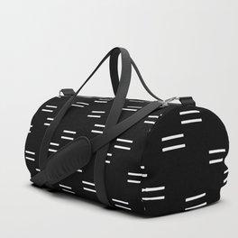 double dash on black Duffle Bag