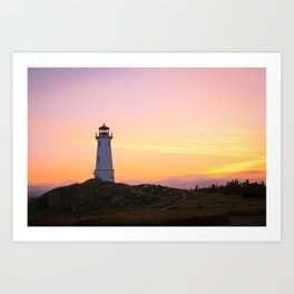 Louisbourg Lighthouse Art Print