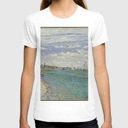 Claude Monet - Regatta at Sainte-Adresse.jpg T-shirt