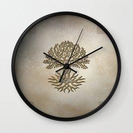 The celtic tree Wall Clock