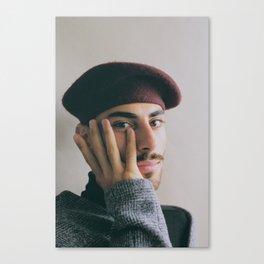 Khaled Canvas Print