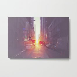 Urban Wilderness Metal Print