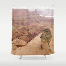 Desert Bird Shower Curtain