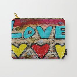 Love X 3 Carry-All Pouch