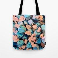 salt water Tote Bags featuring Salt Water Taffy by Sandra Bauser Digital Art
