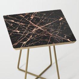 Copper Splatter 091 Side Table