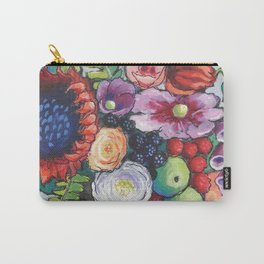 Red Sunflower Party Carry-All Pouch