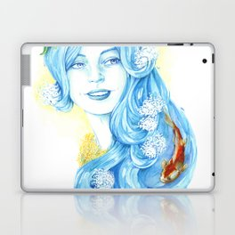 Lady Water / Dame Eau Laptop & iPad Skin