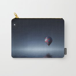 Hot Air Balloon Over Water Carry-All Pouch