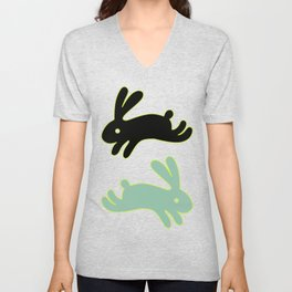 Bunny Honey Unisex V-Neck
