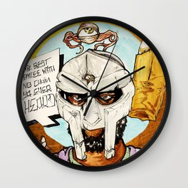 FIGARO: DOOM is my Religion Wall Clock
