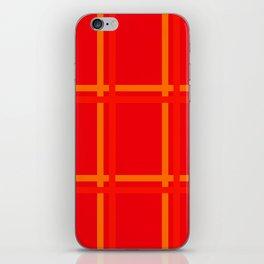 Plaid Design ABC WD iPhone Skin