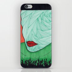 All About the Lips 3 iPhone & iPod Skin