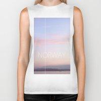 norway Biker Tanks featuring Norway by Hana Savana